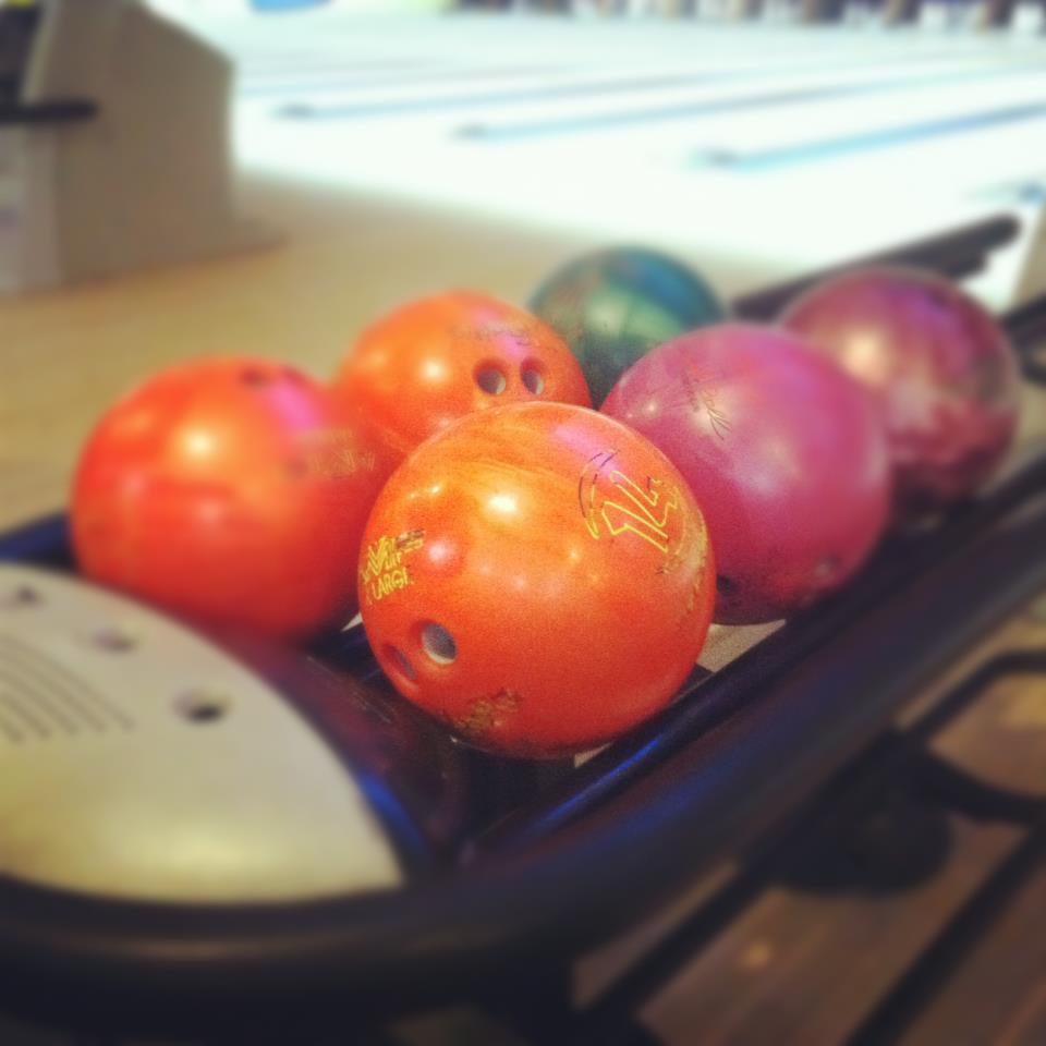 "1st Annual ""NML"" Bowling Balls"