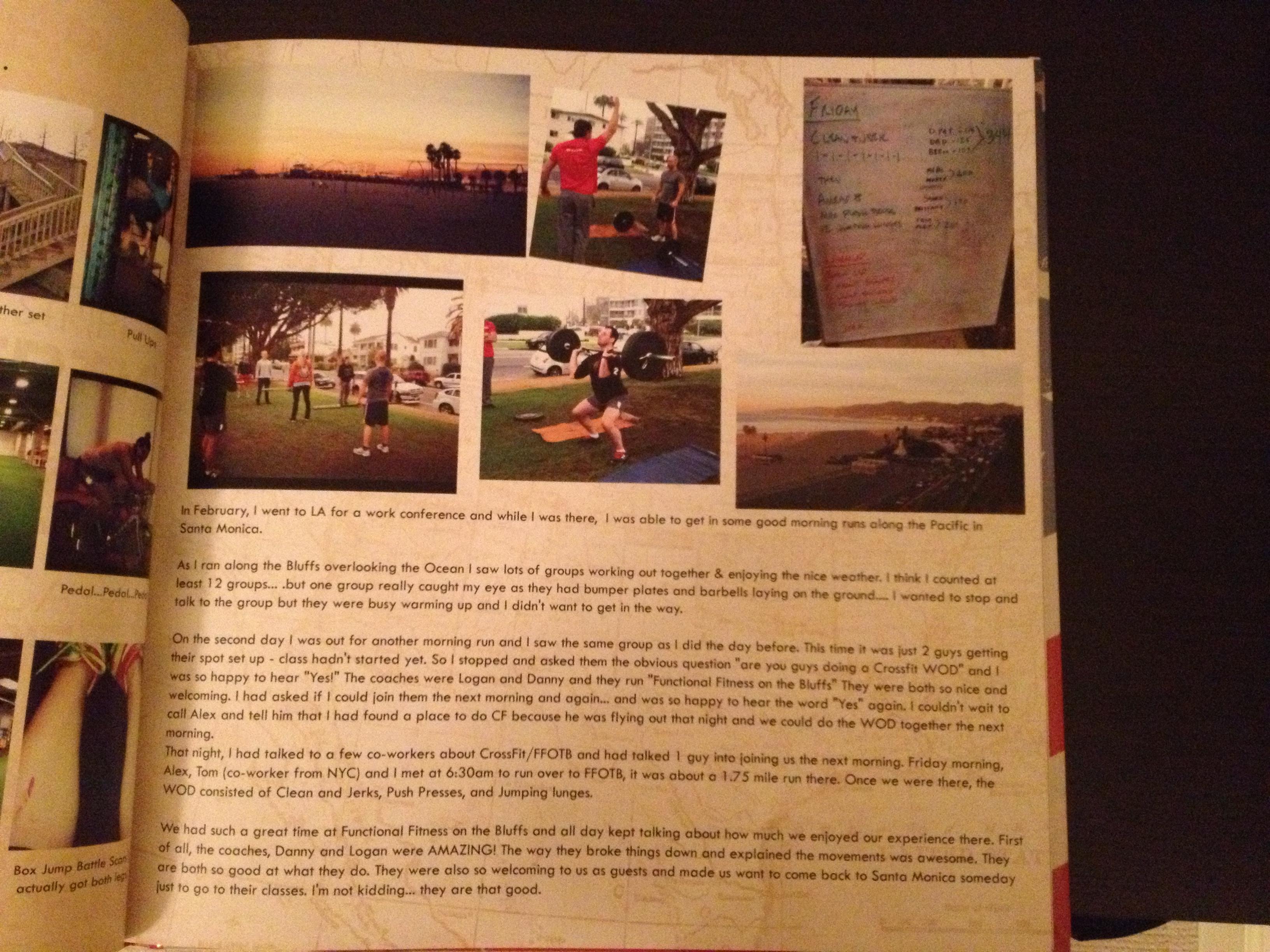 FFOTB makes the Ironman journey scrapbook.